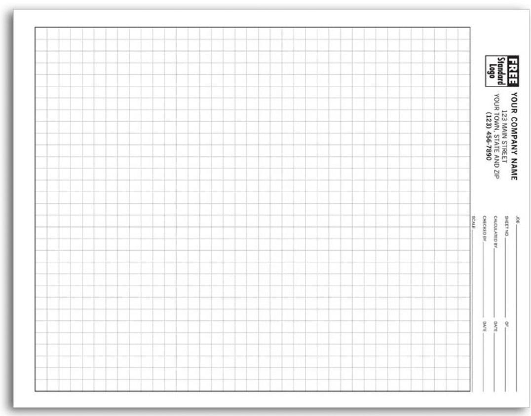 خرید انواع کاغذ گراف سفید