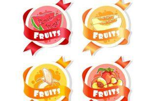 انواع لیبل میوه صادراتی